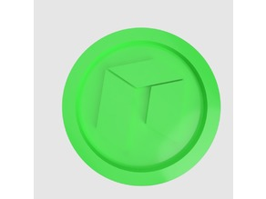 NEO Coin (NEO) simple (Keychain)