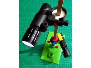 Multi-use DIY 3D printed stand