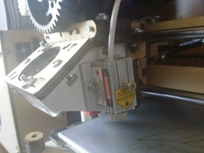 Laser Mount for PrintRbot Plus LC