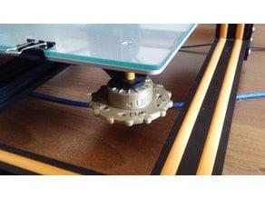 cr10 leveling knob
