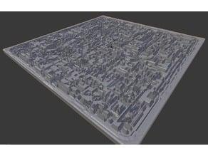 Borg Cube Diorama