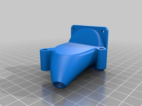 Monoprice Maker Ultimate/Wanhao Duplicator 6 Fan Duct