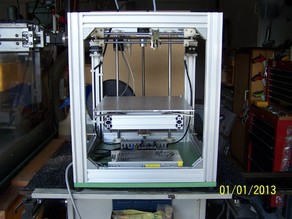 H Configured 3D Printer