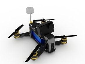 180 size micro quadcopter frame