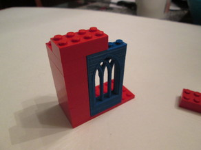 Building block Castle window Lego compatable