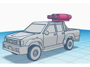 Rocket pod crew cab