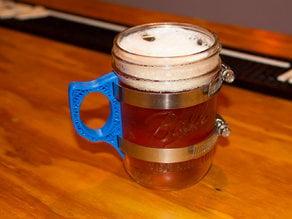 Mason Jar Mug Handle