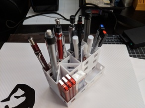 Pencil organizer box