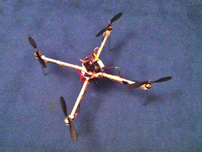 Printed Quadrocopter