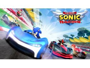 Team Sonic Racing - Logo & Keychain