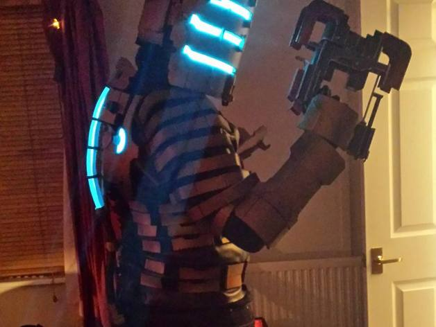 Dead Space 211 V Plasma Cutter By Ghost 3d Thingiverse