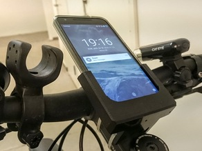 Sony Z3 / Nexus 5X bike mount [Flex material]