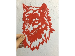WOLF Wall Art / Decoration
