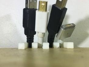 Ikea Desk (Linnmon) cable holder