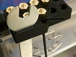 E3D Nozzle Holder for K8400 Velleman Vertex