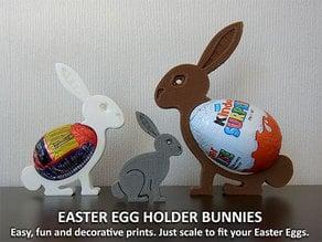 Easter Egg Holder Bunnies