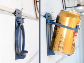 Foldable Beer / Soda can holder