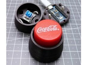 Bottle Cap Keyboard