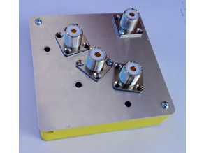 RemoteQTH.com modular antenna switch 3x1 case