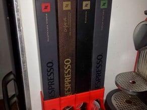Nespresso dispenser for multiple tubes