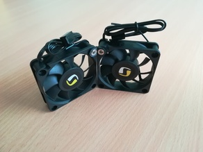 60mm fans joint 135 degree