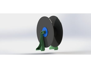 2080 Loch Ness Spool Holder - Tevo Black Widow (Tree Fiddy Edition)