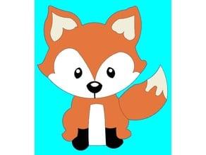 Fox 2D Layered Art
