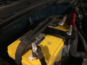 Honda Civic Del Sol Battery Tie Down