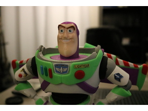 Buzz Lightyear - Multi Color Print