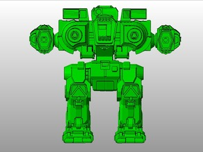MWO Style Fafnir Battletech boardgame miniature (Outdated)