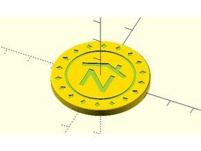 Nerdhaus Poker Chip
