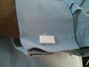 Emergency Rectangular Cufflinks