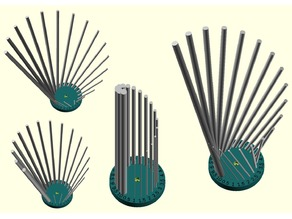 Customizable drill bit holder