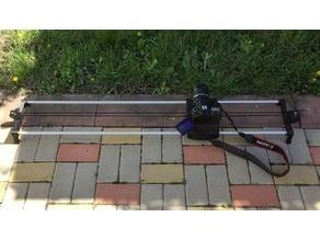 DIY 3D printed DSLR Motorized Camera Slider
