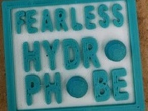 Intro to Hydrophobic Surfaces Badge/Magnet