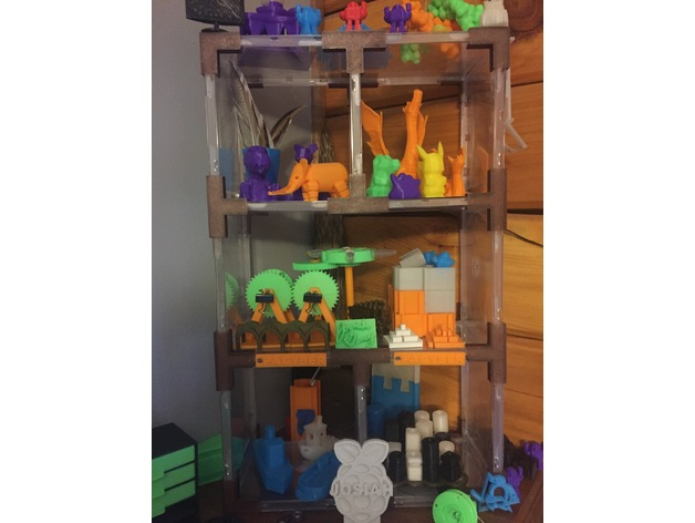 recycled cd cases doll s house toy shelves by josiahg rh thingiverse com
