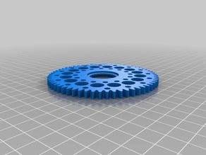 Gear wheel 60 teeth fischertechnik compatible