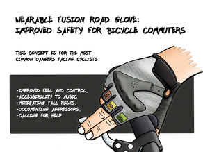 Wearable Fusion Road Glove