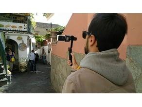 YI 4K action cam mount for FeiyuTech SPG c gimbal