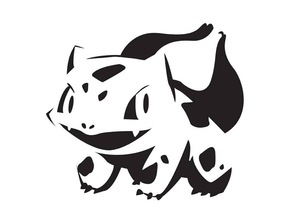 Bulbasaur stencil