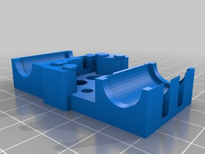 E3D Chimera and Cyclops compact X-Carriage for Prusa i3 Style printers