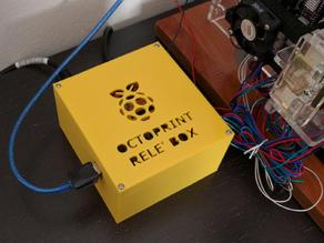 Raspberry pi Octoprint Relè box