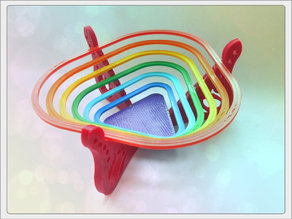 "Bowl for sweets ""rainbow"""