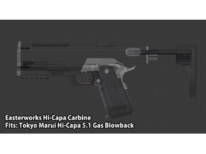 (AIRSOFT) Hi-Capa 5.1 Carbine Kit (OBSOLETE - see description!)