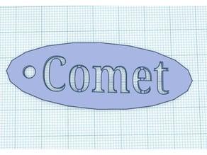 Comet Keychain