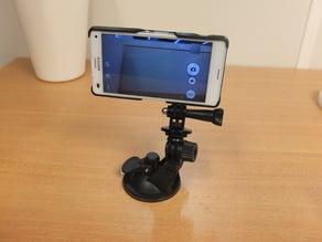 Xperia Z3 compact case + sportcam mount