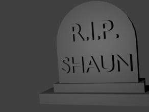 Shaun Tombstone