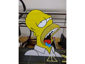 Homer Simpson multicolor