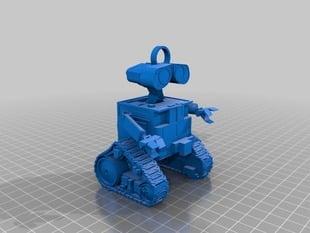 Wall-E Keychain