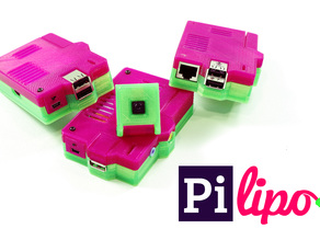 Pilipo - Rechargeable Raspberry Pi with ON/OFF